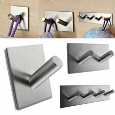 Attaccapanni da parete o porta in acciaio