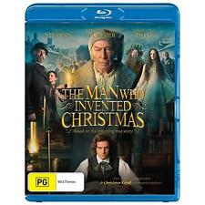 The Man Who Invented Christmas (Blu-ray, 2018)