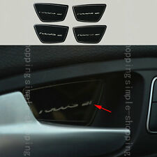 4pcs Stainless Steel Interior Handle Bowl Cover Trim For Ford Focus 2011-2016