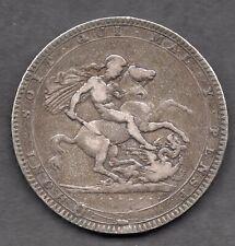 Great Britain GEORGIUS III Crown 1819 LIX  silver coin