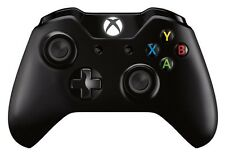Official Microsoft Xbox One Black Wireless Controller OEM Genuine S2V-00001 VG