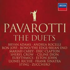 BEST OF PAVAROTTI & FRIENDS THE DUETS CD STING UVM NEW!