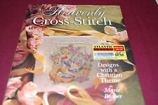 Heavenly Cross-Stitch by Marie Barber - 33 Christian Projects - Hardcover