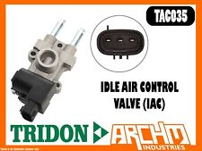 TRIDON TAC035 - IDLE AIR CONTROL VALVE (IAC) - 3 PINS - ACTUATING DEVICE SPEED