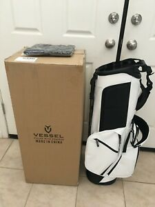 VESSEL PLAYER III 3.0 STAND BAG WHITE 14 WAY TOP DIVIDER - SOLD OUT