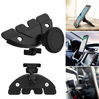 Car Dash CD Slot Holder Magnetic Phone Stand Mount for iPhone Samsung Phones GPS