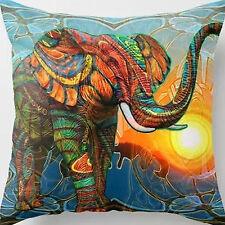 Super Sanft Velvet  Elephant Kissenbezug Kissenhülle Dekokissen Dekoration Haus