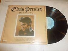 ELVIS PRESLEY - Inspirations - 1980 UK 20-track vinyl compilation LP