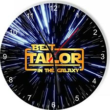 Best Tailor in the Star Galaxy Space Kitchen Living room Wall Clock