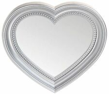 Heart Shaped Wall Hanging Mirror for Bedrooms Hall and Bathrooms. 2 Size Choices