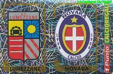 644 SCUDETTO AC.LUMEZZANE  NOVARA CALCIO ITALIA  STICKER CALCIATORI 2004 PANINI