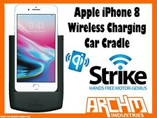 STRIKE ALPHA APPLE IPHONE 8 WIRELESS CHARGING CAR CRADLE - PROTECTS MOUNT