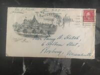 1920 Asheville NC USA The Battery park Hotel Advertising Cover