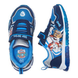 New Nickelodeon Paw Patrol Toddler Boys Light-Up Sneakers 6 7 8 9 10 11 12