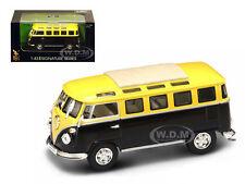 1962 VOLKSWAGEN MICROBUS VAN BUS YELLOW 1/43 MODEL BY ROAD SIGNATURE 43209