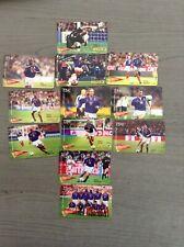 Serie Complete KERTEL FRANCE 98 FOOTBALL 12 Cartes