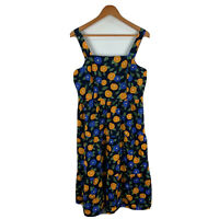Princess Highway Womens Dress Size 12 Petite Multicoloured Floral Sleeveless
