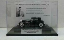 The John Dillinger Public Enemy # 1 Car Display