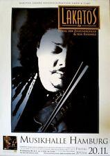 LAKATOS, ROBY - 1998 - Konzertplakat - Zigeuner - In Concert - Tour - Hamburg