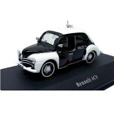 Renault 4CV Policía police  1:43 coche Atlas Diecast