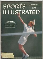 September 3, 1956 Sports Illustrated Magazine Lew Hoad on Cover