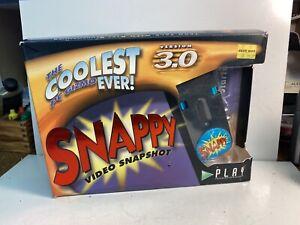 Vintage Snappy Video Snapshot Version 3.0 Manual And Box No Software