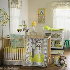 Lolli Living Animal Tree 4-Pc Crib Bedding Set/Quilt/2 Sheets/Dust Ruffle * New*