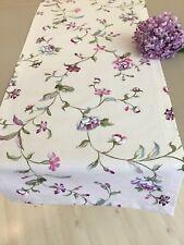 Tischläufer Blumenranken  40  x 135 cm