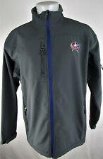 Columbus Blue Jackets NHL Men's Gray Soft Shell Jacket