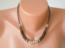 Langani Luxus Designer Collier,Kette mit der schwarzen Perle  43,5 g/L: 44 cm