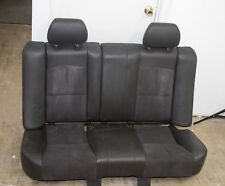 2008-2012 Chevy Chevrolet Malibu Rear Seat Assembly Black Leather