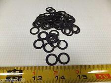 """(100) 5/8"""" OD x 7/16"""" ID x .049"""" thick Flat Washers - COMPOSITE FIBER BLACK"""