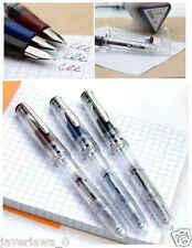 5 pcs Dollar 717i Transparent demonstrator piston filler Fountain Pen