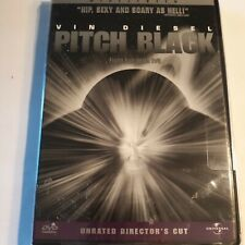 Pitch Black (Dvd, 2000, Widescreen, Unrated Director's Cut) New & Sealed
