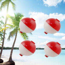 30pcs/lot Red and White 1 Inch Hard Abs Fishing Floats Plastic Floats