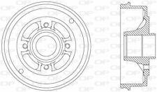 TAMBOUR DE FREIN POUR RENAULT TWINGO I 1.2,1.2 16V,1.5 DCI,1.4