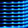 Lot8 Blue 15 LED 30CM Car Grill Flexible Waterproof Light Strip SMD 12V Sales