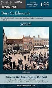 Bury St Edmunds by Cassini Publishing Ltd (Sheet map, folded)NEW.End Of Stock!