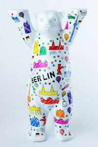 Berlin Scribble - Buddy Bear New Small 6cm Berlin Motifs Souvenir +Gift Box