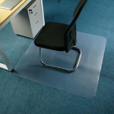 PVC Plastic Hard Wood Floor Mat Protector Office Rolling Chair Computer Desk BT