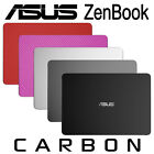 Textured Carbon Fiber Skin ASUS ZenBook UX305 UX303 Protection Sticker cover