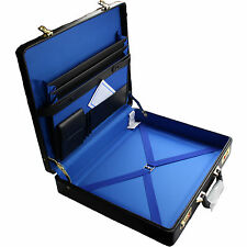 Masonic Regalia Case Master Mason Size - Simulated Leather With Name Plate
