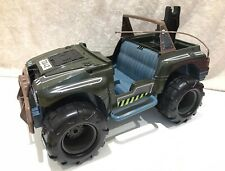 Vintage Hasbro Action Man 1997 Army Jeep Patrol Vehicle Truck
