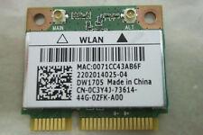 Dell Laptop DW1705 C3Y4J Wireless WIFI WLAN Card TESTED GOOD