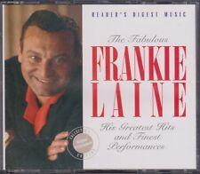 READER'S DIGEST Fabulous FRANKIE LAINE Greatest Hits & Finest Performances 3 CD