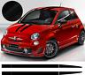 Fiat 500 Kit bandes ferrari 695 - stickers autocollants - Toit - Hayon - Capot