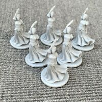 Set of 6 Unpainted Dungeons & Dragon D&D Marvelous Miniatures toy GIFTS figures