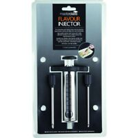 """Kitchencraft """"master Class"""" Flavour Injector, Silver/black - Injector Stainless"""