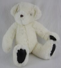 "GUND 1992 White Victoria's Secret Teddy Bear Plush Stuffed Animal Toy 15"""