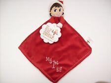 NWT Christmas My 1st Elf on the Shelf Girl cuddler plush small blanket Rattle